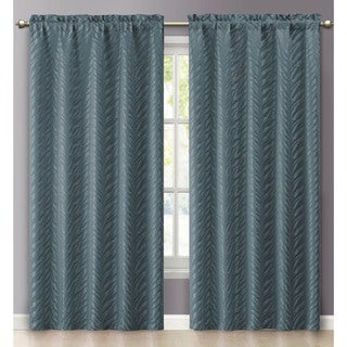 Victoria Classics Kenya Rod Pocket 84-inch Curtain Panel
