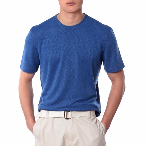 Men's Dark Blue Crew Neck Shirt