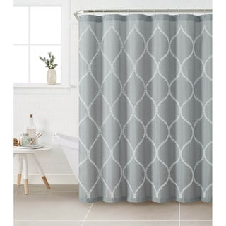 VCNY Kimberly Polyester Shower Curtain