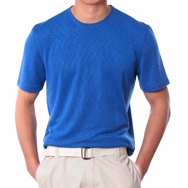 Men's Medium Blue Crew Neck Shirt
