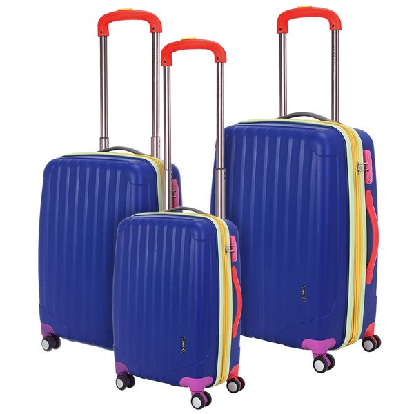 Traveler's Club Get Away 3-piece Hardside Spinner Luggage Set