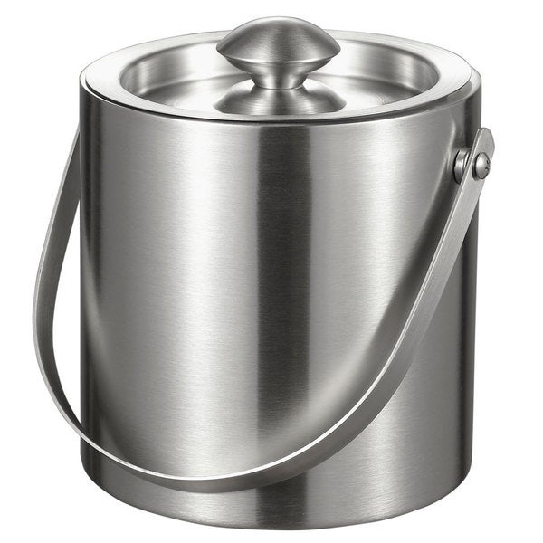 Visol Francois Stainless Steel Double-walled Insulated 3-liter Ice Bucket