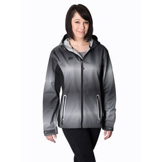 Mossi Adrenaline Black/ Grey Rain Jacket