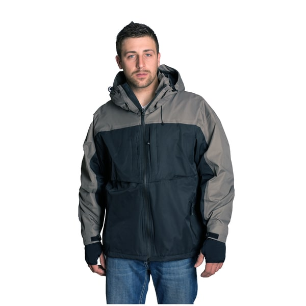 Mossi TPX Black/ Slate Grey Jacket