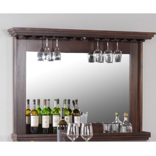 Sunny Designs Santa Fe Back Bar with Mirror and Light