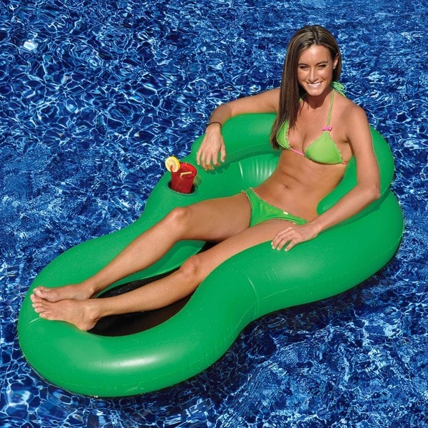 Swimline Cool Chair Floating Pool Lounge Overstock Shopping The Best Pric