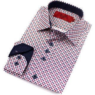 Elie Balleh Brand Men's 2015 Button-up Style Slim Fit Shirt