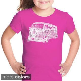 LA Pop Art Girl's The 70's T-shirt