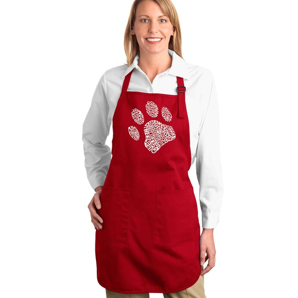 Dog Paw Kitchen Apron