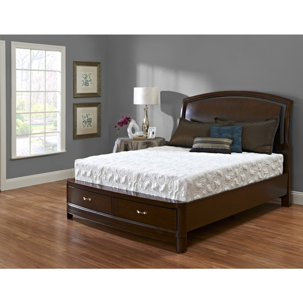 Purelife Frazier 10-inch King-size Gel Memory Foam Mattress