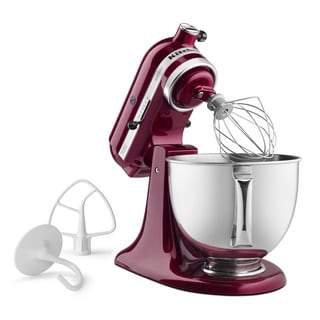 KitchenAid RRK150BX Bordeaux 5-quart Tilt-Head Stand Mixer (Refurbished)