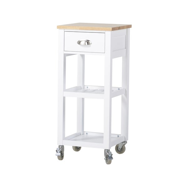Rolling Kitchen Island Cart With One Drawer 17226812