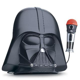 Star Wars Darth Vader Voice Changer Boombox with Built-in Songs - Connects to Any Audio Device