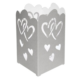 Tabletop Paperboard Hearts Lantern (Pack of 12)