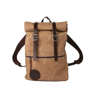 Duluth Pack Scout Waxed Canvas Roll Top Pack