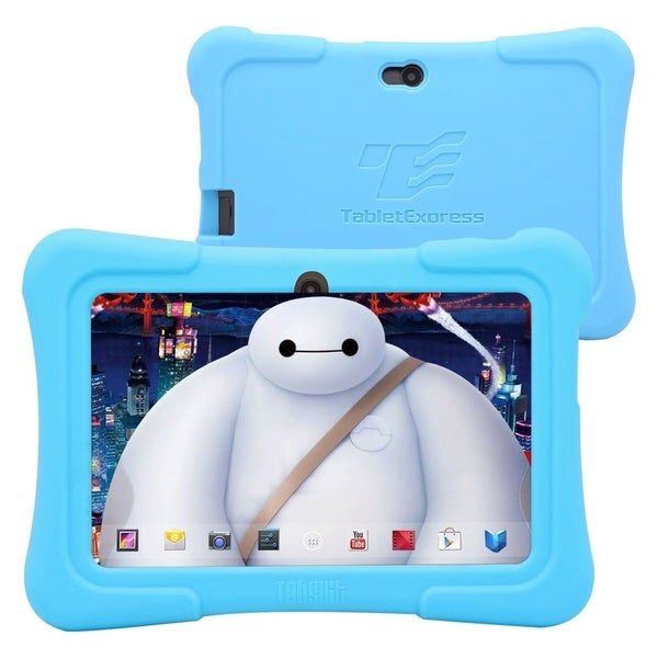 "Tablet Express Dragon Touch 7"" Android Kids Tablet - Blue"