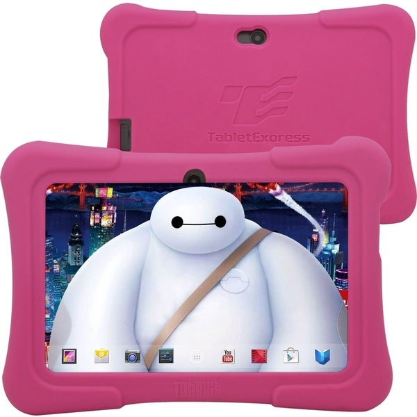 "Tablet Express Dragon Touch 7"" Android Kids Tablet - Pink"