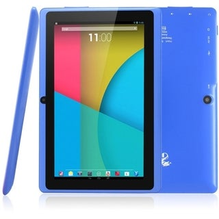 """Tablet Express Dragon Touch 7"""" Quad Core Android Tablet - Blue"""