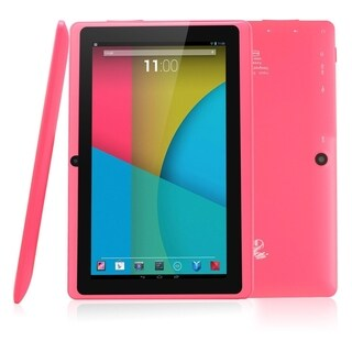 """Tablet Express Dragon Touch 7"""" Quad Core Android Tablet - Pink"""