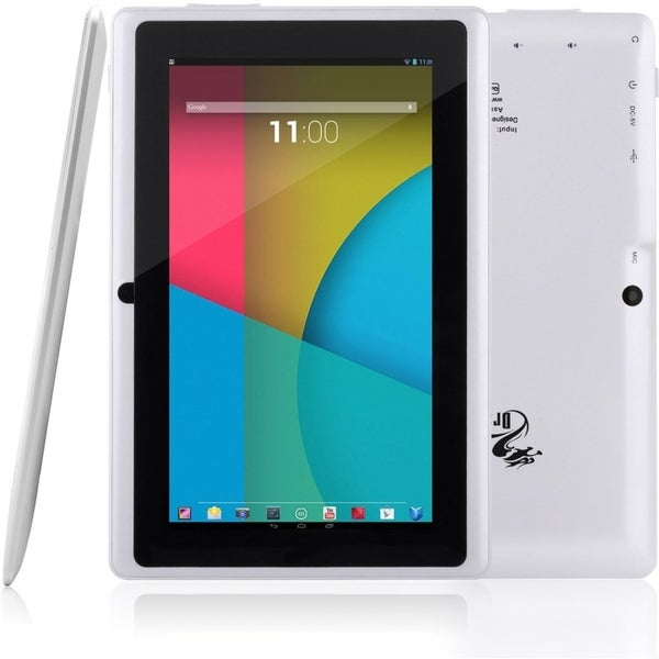 "Tablet Express Dragon Touch 7"" Quad Core Android Tablet - White"