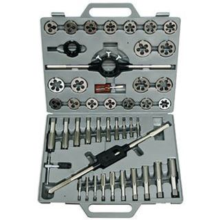 "Drill America #4-1/2"" HSS Tap and Round Die Set"