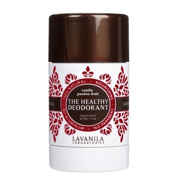 Lavanila The Healthy Deodorant Vanilla Passion Fruit Solid Stick