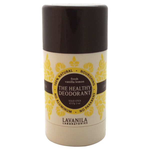 Lavanila The Healthy Deodorant Fresh Vanilla Lemon Solid Stick