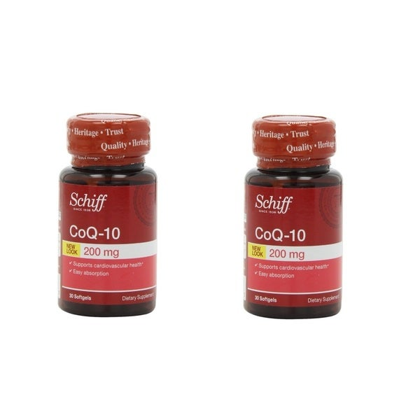 Schiff CoQ10 (30 Count) (Pack of 2)