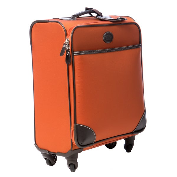 Brics Pronto 20-inch Tangerine Wide-body Spinner Carry On Upright Suitcase