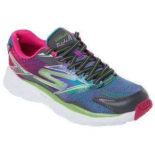 Skechers USA GO Run Ride 4-Excess Heathered Cushioned Running Shoes