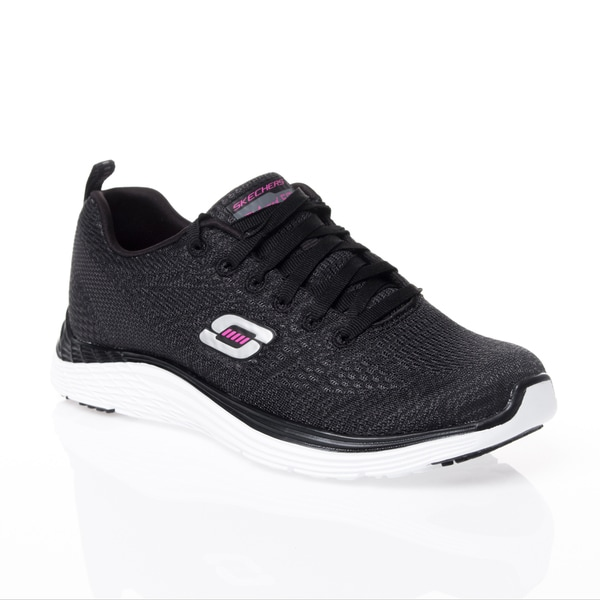 Skechers USA Sport Valeris Relaxed Fit Dual Color Skech-Knit Shoes with Air-cooled Memory Foam