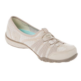 Skechers USA Active Breathe Easy Dimension Basket Weave Stretch Mesh Bungee with Memory Foam