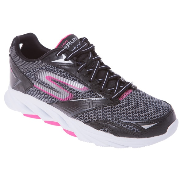 Skechers USA GO Run Vortex Lightweight Resagrip Running Shoe