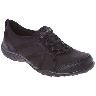 Skechers USA Active Breathe Easy-Fortune Heathered Jersey and Satin Gore Bungee Slip On with Memory Foam
