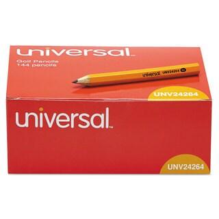 Universal Yellow Barrel Golf & Pew Pencil (3 Packs of 144)