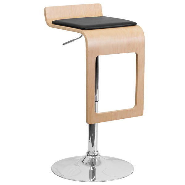 Contemporary Drop-frame Swivel Bar Stool
