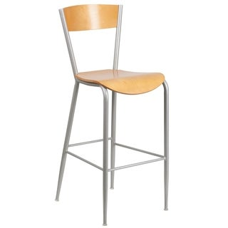 Lightweight Metal Restaurant Bar Stool
