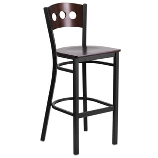 Heavy-duty Lightweight Metal Restaurant Bar Stool