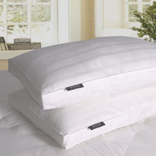 Elle 600 Thread Count Damask Cotton Down Alternative Pillow (Set of 2)