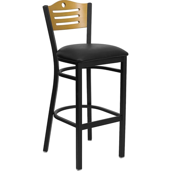 Backed Bar-height Bar Stool