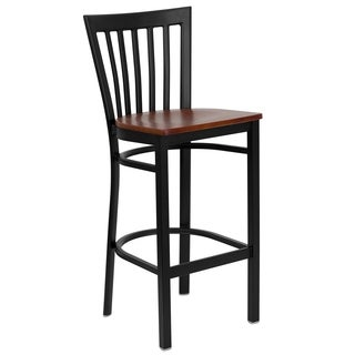 Bar Back Wooden Restaurant Bar Stool