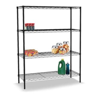 Sunbeam Wire 36-inch High Four-shelf Shelving Unit