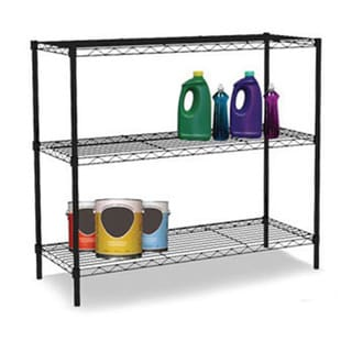 Sunbeam Wire 31.5-inch Tall Three Shelf Shelving Unit