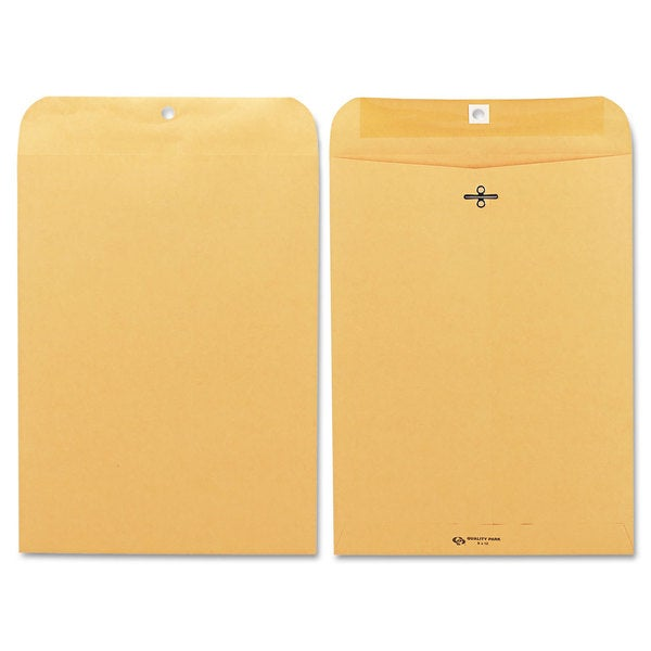 Quality Park Brown Kraft Clasp Envelope