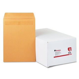 Universal One Brown Self-Stick File-Style Envelope