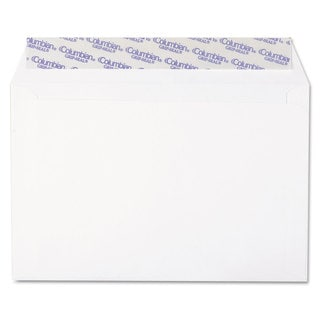 Columbian White Grip-Seal Booklet/Document Envelope