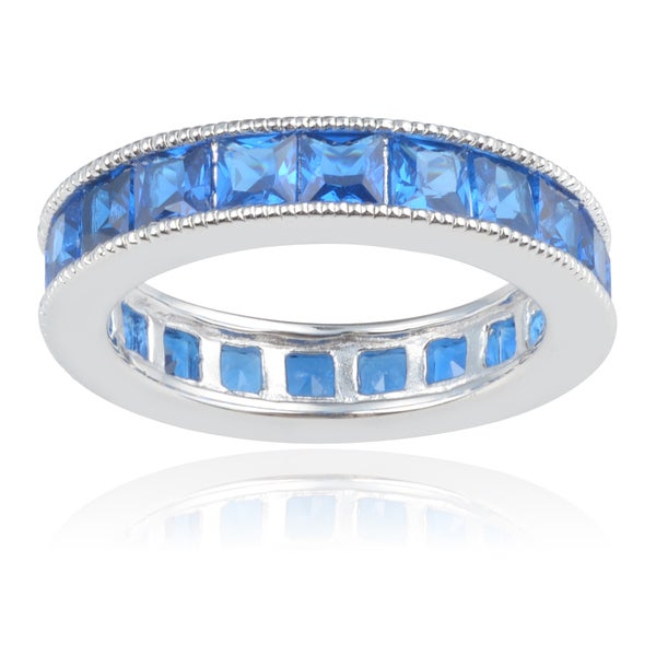 Journee Collection Sterling Silver Cubic Zirconia Band (5mm) 15269470