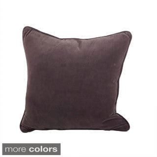 Classic Velvet Design Down Filled Decorative Throw Pillow