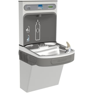 Elkay EZ H2O Lustrous Satin/ Stainless Steel Drinking Fountain LZS8WSSK