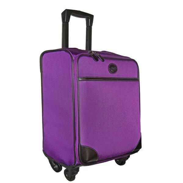 Brics Pronto 20-inch Magenta Wide-body Spinner Upright Suitcase